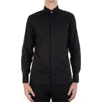 Oblečenie Muži Košele s dlhým rukávom Manuel Ritz 3030E652-213229 Nero