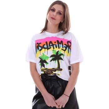 Oblečenie Ženy Tričká s krátkym rukávom Disclaimer 21EDS50632 Biely