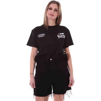 Oblečenie Ženy Tričká s krátkym rukávom Disclaimer 21EDS50642 čierna