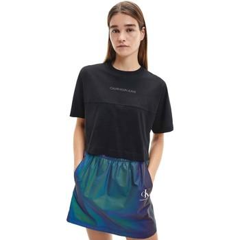 Oblečenie Ženy Tričká s krátkym rukávom Calvin Klein Jeans J20J215313 čierna