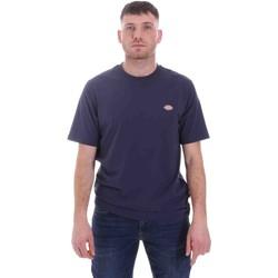Oblečenie Muži Tričká s krátkym rukávom Dickies DK0A4XDBNV01 Modrá