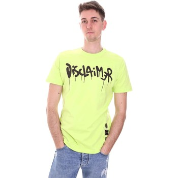 Oblečenie Muži Tričká s krátkym rukávom Disclaimer 21EDS50565 Zelená