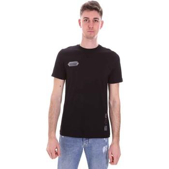 Oblečenie Muži Tričká s krátkym rukávom Disclaimer 21EDS50517 čierna