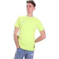 Oblečenie Muži Tričká s krátkym rukávom Disclaimer 21EDS50517 Zelená