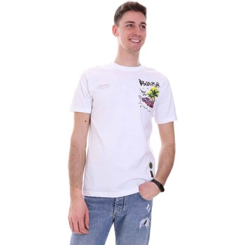 Oblečenie Muži Tričká s krátkym rukávom Disclaimer 21EDS50522 Biely