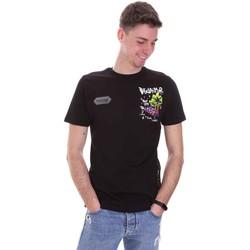 Oblečenie Muži Tričká s krátkym rukávom Disclaimer 21EDS50522 čierna