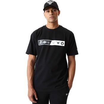 Oblečenie Muži Tričká s krátkym rukávom New-Era 12553333 čierna