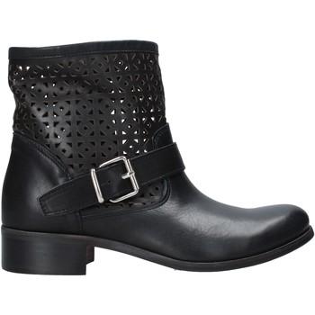 Topánky Ženy Polokozačky Melluso H01400 čierna