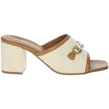 Topánky Ženy Šľapky Paola Ferri D7431 Brown leather