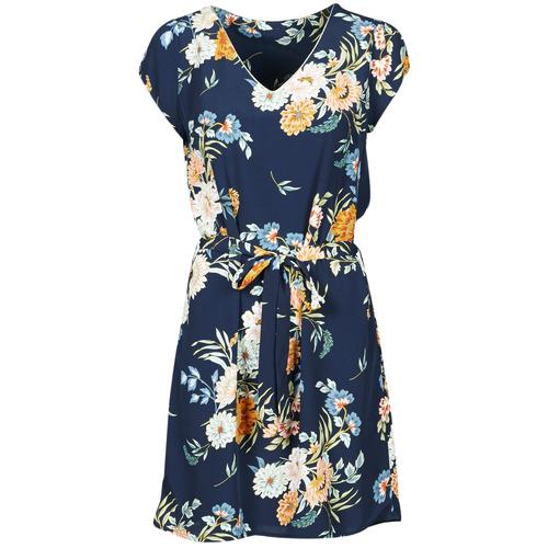 Oblečenie Ženy Krátke šaty Betty London OWAKA Námornícka modrá / Viacfarebná