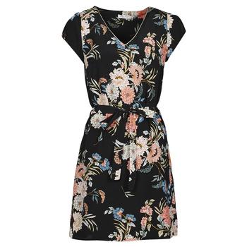 Oblečenie Ženy Krátke šaty Betty London OWAKA Čierna / Viacfarebná