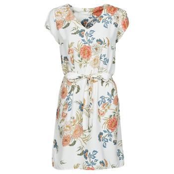 Oblečenie Ženy Krátke šaty Betty London OWAKA Biela / Viacfarebná