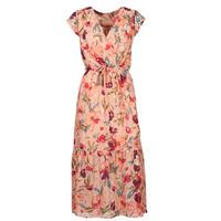 Oblečenie Ženy Dlhé šaty Moony Mood  Ružová / Viacfarebná