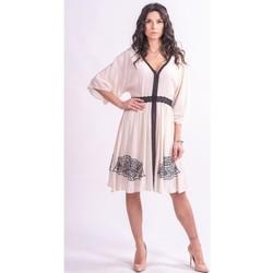 Oblečenie Ženy Krátke šaty Fracomina F321SD2002W41801 Bezfarebný