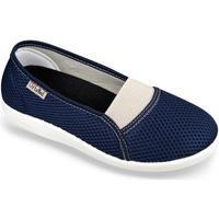 Topánky Ženy Papuče Mjartan Dámske modré papuče  DENISA modrá