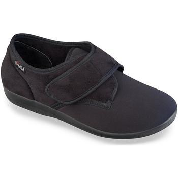 Topánky Muži Papuče Mjartan Pánske čierne papuče  NATS čierna