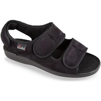 Topánky Muži Papuče Mjartan Pánske čierne papuče  CALOT čierna