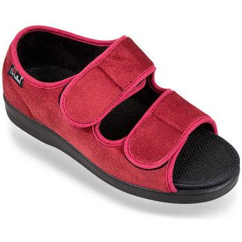 Topánky Ženy Papuče Mjartan Dámske červené papuče  ORTENZIA červená