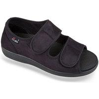 Topánky Ženy Papuče Mjartan Dámske čierne papuče  ORTENZIA čierna