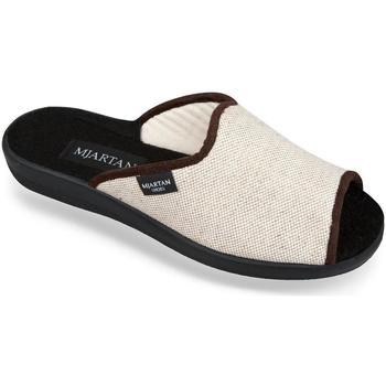 Topánky Ženy Papuče Mjartan Dámske béžové papuče  ADELA béžová
