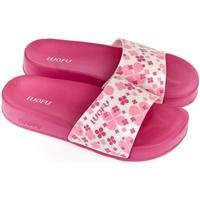 Topánky Ženy športové šľapky Wink Dámske ružovo-biele šľapky MISCHA ružová