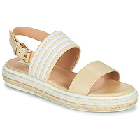 Topánky Ženy Sandále Geox LEELU Béžová