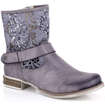 Topánky Ženy Polokozačky Kimberfeel ANAELLE Gris