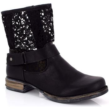 Topánky Ženy Čižmičky Kimberfeel ANAELLE Noir