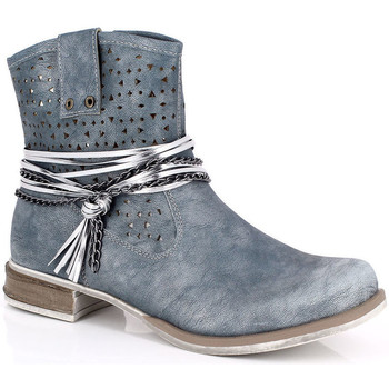 Topánky Ženy Čižmičky Kimberfeel MARGOT Bleu