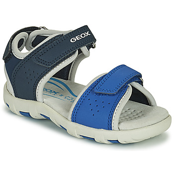 Topánky Chlapci Sandále Geox SANDAL PIANETA Modrá
