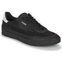Topánky Muži Nízke tenisky HUGO ZERO TENN Čierna