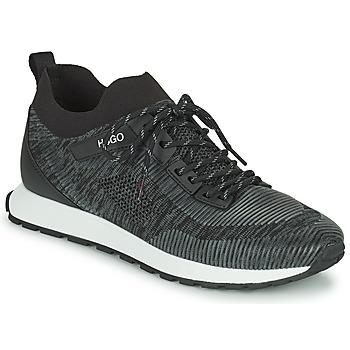 Topánky Muži Nízke tenisky HUGO ICELIN RUNN Čierna