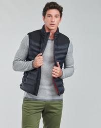 Oblečenie Muži Vyteplené bundy HUGO BALTINO Čierna