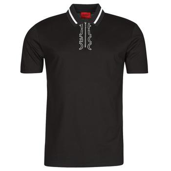 Oblečenie Muži Polokošele s krátkym rukávom HUGO DOLMAR Čierna / Biela