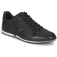 Topánky Muži Nízke tenisky BOSS SATURN LOWP NYS Čierna