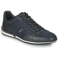 Topánky Muži Nízke tenisky BOSS SATURN LOWP NYST Námornícka modrá