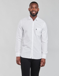 Oblečenie Muži Košele s dlhým rukávom BOSS MAGNETON Biela