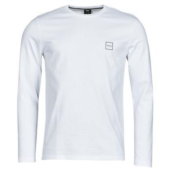 Oblečenie Muži Tričká s dlhým rukávom BOSS TACKS Biela