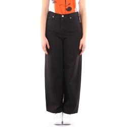 Oblečenie Ženy Padavé nohavice Roy Rogers P21RND091P3211755 BLACK