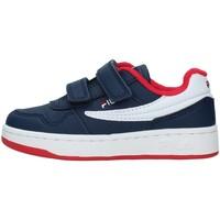 Topánky Chlapci Nízke tenisky Fila 1011078 NAVY BLUE