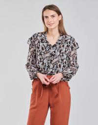 Oblečenie Ženy Blúzky Betty London OCARA Čierna / Viacfarebná