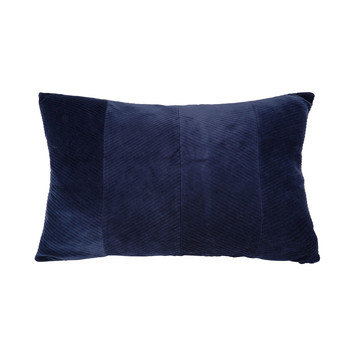 Domov Vankúše Present Time RIBBED Modrá / Nočná obloha