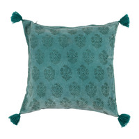 Domov Obliečky na vankúše Sema BAYLEEN Modrá / Zelená smaragdová