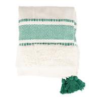 Domov Deky Sema LENA Modrá / Zelená smaragdová