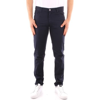 Oblečenie Muži Nohavice päťvreckové Trussardi 52J00007 1Y000163 NAVY BLUE