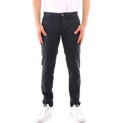Oblečenie Muži Nohavice päťvreckové Blauer 21SBLUP01244 BLUE