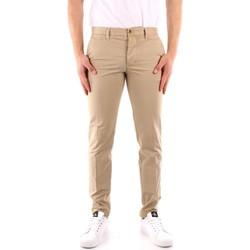 Oblečenie Muži Nohavice päťvreckové Blauer 21SBLUP01244 BEIGE