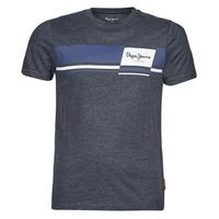 Oblečenie Muži Tričká s krátkym rukávom Pepe jeans KADE Modrá