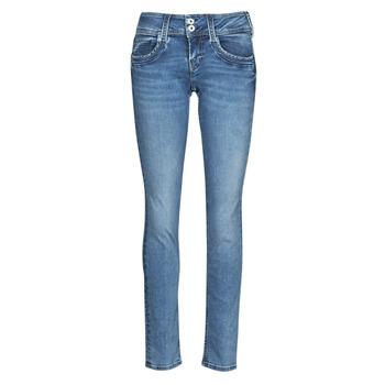 Oblečenie Ženy Rovné Rifle  Pepe jeans GEN Modrá