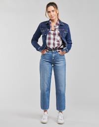Oblečenie Ženy Rovné Rifle  Pepe jeans DOVER Modrá